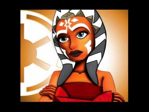 Drawing Ahsoka Tano