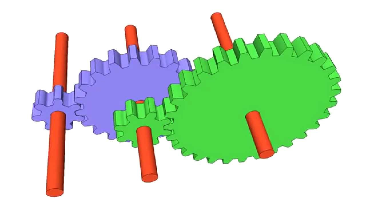 compound gear ratios youtube