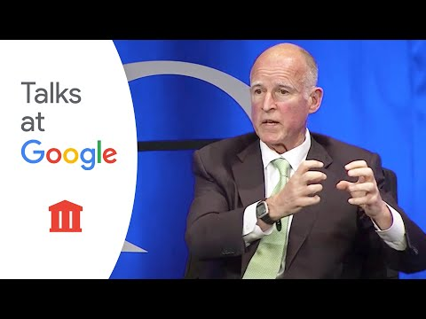 Jerry Brown speaks with Eric Schmidt