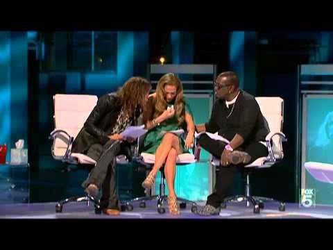 Jennifer Lopez llora en American Idol