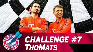 ThoMats #7 | Football-Darts Challenge | Müller vs. Hummels