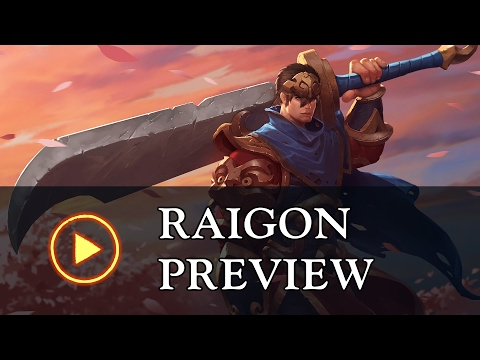 "Battlerite Champion Preview: Raigon ""The Exiled Prince"""