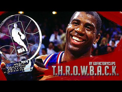 Throwback: Magic Johnson Full MVP Highlights 1992 All-Star Game - 25 Pts, 9 Ast, MUST SEE!!