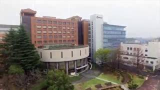 桜美林大学 町田キャンパス ドローン空撮 2016年4月