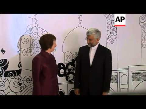 EU FOREIGN POLICY CHIEF ASHTON MEETS NUCLEAR NEGOTIATOR SAEED JALILI