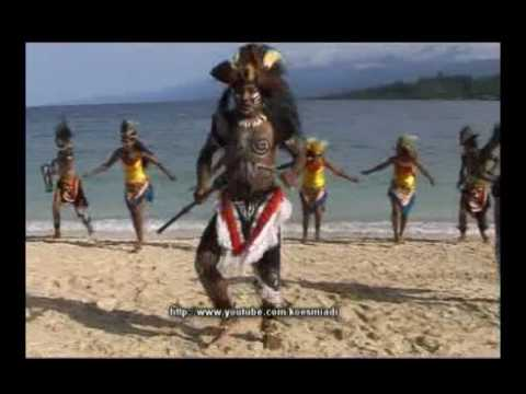 Dance Reception Wondama Bay West Papua (tari Penyambutan Teluk Wondama Papua Barat) video