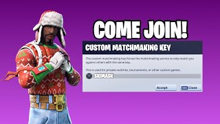 🔴🔴(NA EAST)CUSTOM MATCHMAKING SOLO/DUO/SQUAD SCRIMS FORNITE LIVE,PS4,XBOX,PC,MOBILE,SWITCH