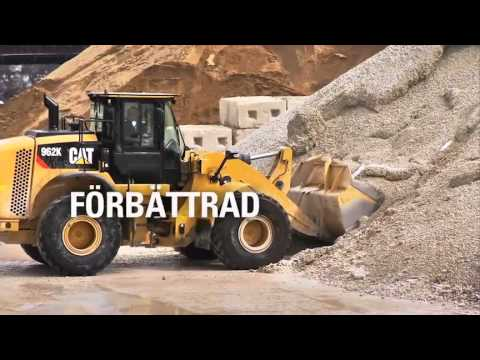 Cat K Series Buckets Hold More Payload for Less Fuel (SWEDISH)