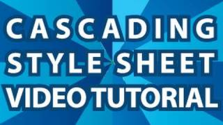 CSS Video Tutorial