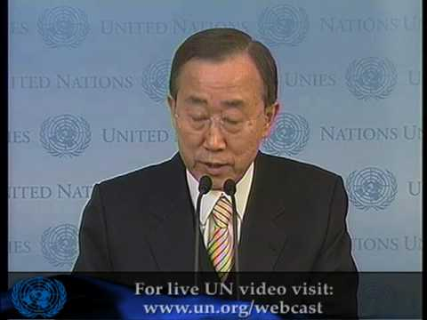 Ban announces new UN envoy for Afghanistan on eve of London conference
