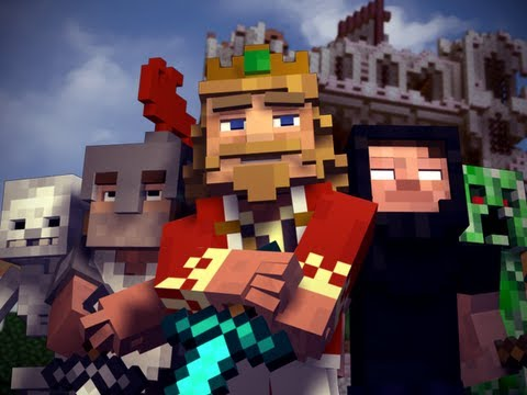 fallen Kingdom - A Minecraft Parody Of Coldplay's Viva La Vida (music Video) video
