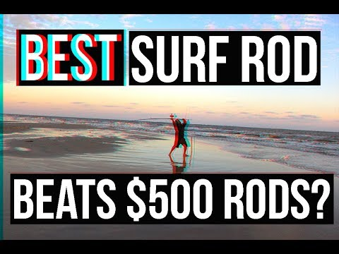 The NEW BEST Surf Fishing Rod? SURPRISING PRICE | Surf Fishing Jetty Fishing  Surf Fishing Rigs