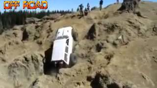 "VIDEO OFF ROAD EXTREME 4X4 CLIMBING ""MOBIL OFF ROAD ADVENTURE 4X4 JEEP CHEROKEE TERGULING"""