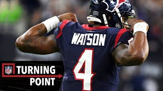 How Deshaun Watson Stayed on His Feet During Wild Card Weekend | NFL Turning Point