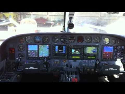 Garmin G600 Upgrade Twin Cessna 421c Youtube