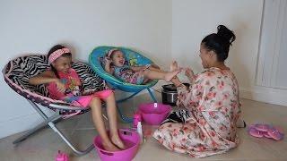 AT HOME PAMPER ROUTINE   DIY KIDS SPA DAY