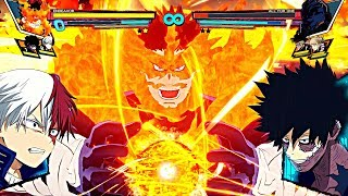 All NEW CHARACTERS PLUS ULTRA ULTIMATE ATTACKS! My Hero Academia: One's Justice DLC All Quirk Types!
