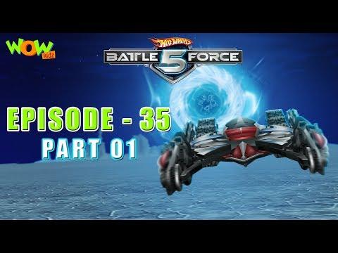 Motu Patlu presents Hot Wheels Battle Force 5 - Deep Freeze - S2 E35.P1 - in Hindi thumbnail