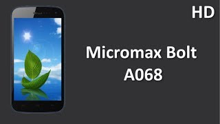 Micromax Bolt A068 online with 5 inch TFT Capacitive  Display and 5.0 MP Camera Price Specification