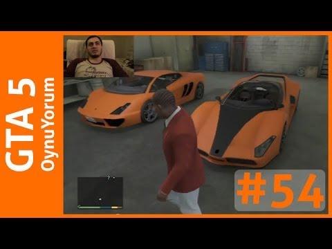 GTA 5 OynuYorum - 54. Bölüm: Bir Garaj Dolusu Süper Araba