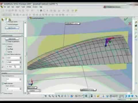 How to Design a Boat Hull in SolidWorks Free Form Demo - YouTube