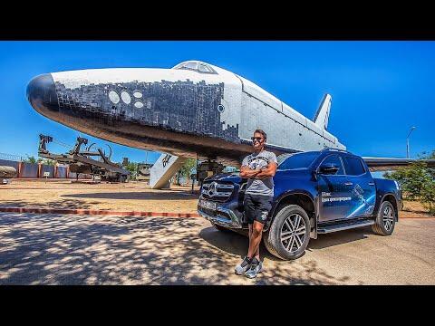 Встреча Космонавтов в Спасательном Отряде. Новый Mercedes-Benz X-Class