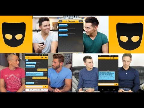 GAY COUPLES REACT TO GRINDR MESSAGES