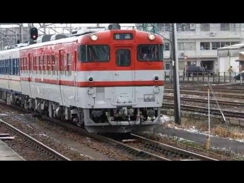 【JR東日本】【HD1920×1080】キハ47 磐越西線 新津駅 到着と回送