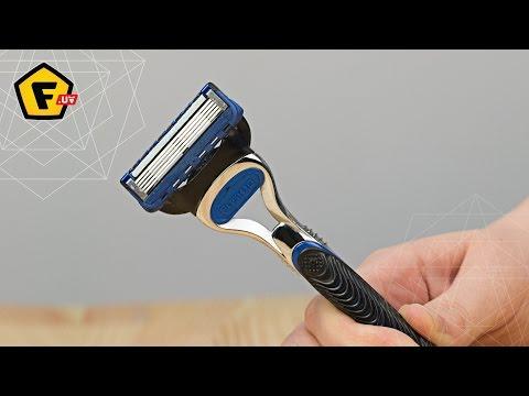 как наточить лезвие для бритья видео