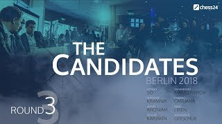 Round 3 - 2018 FIDE Berlin Candidates - Live Commentary