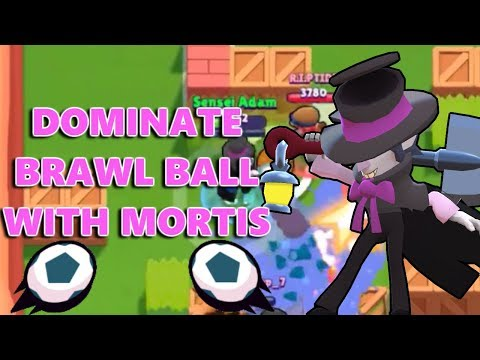 How to Dominate Brawl Ball with Mortis! Brawl Stars