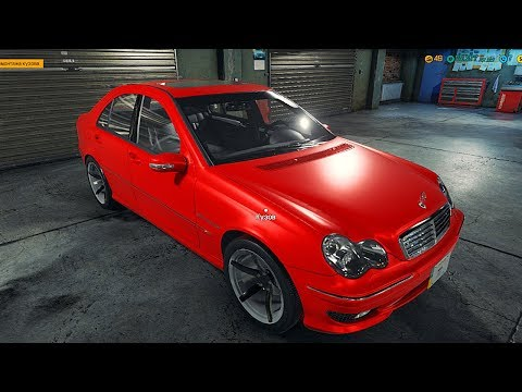 Car Mechanic Simulator 2018 - MERCEDES AMG ГОТОВ! 5 сек до 100!