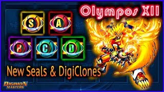 New DigiClones , New Seals , New Olympian XII MONTHLY & More!!! || KDMO