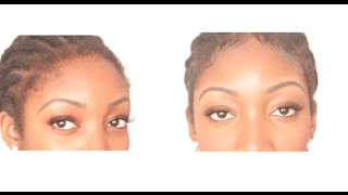 QUICK TIPS - How To Lay 4C Edges / Baby Hair