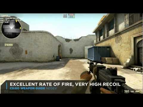 CS:GO Negev Weapon Guide: New $5.700 Machine Gun in Counter-Strike: Global Offensive