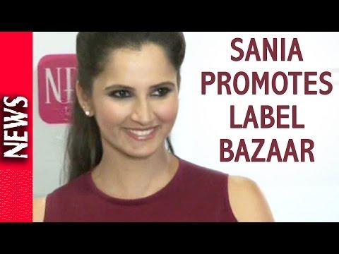 Latest Bollywood News - Sania The Face Of Label Bazaar - Bollywood Gossip 2016
