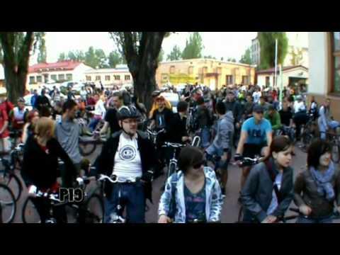 Karta Brukselska W Łodzi & Łódzka Masa Krytyczna 29.04.2011 (Critical Mass Of Lodz)