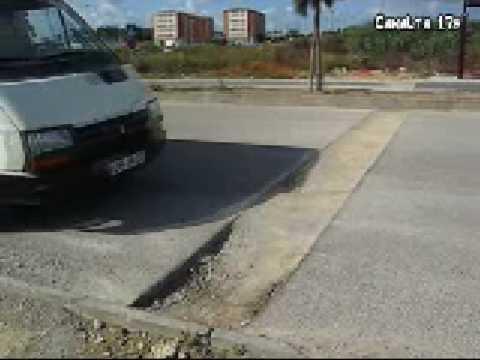 Estradas, remedos e buracos de obras mal acabadas