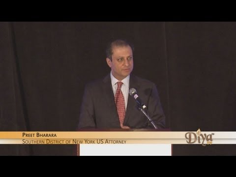 Preet Bharara's Keynote Speech at the 10th Annual NASABA Gala