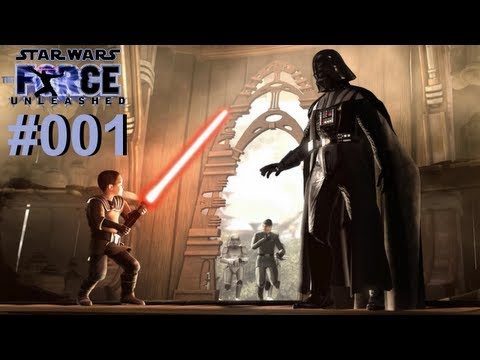 Let s Play Star Wars The Force Unleashed #001 Darth Vader alias HerrTutorial [Deutsch] [Full-HD]