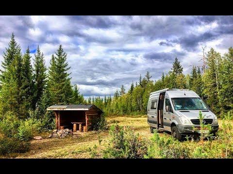 Teil 10 Mercedes-Benz Sprinter4x4: Wir reisen mit unserem Allrad-Camper-Van durch Schweden.