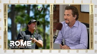 Phil Mickelson DENIES Knowledge of Admission Scandal | The Jim Rome Show