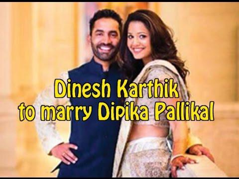 Dinesh Karthik to marry Dipika Pallikal