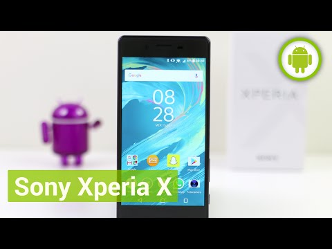 Sony Xperia X, recensione in italiano