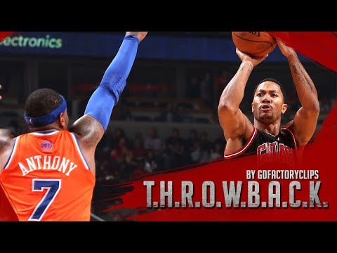 Derrick Rose vs Carmelo Anthony Full Duel Highlights 2013.10.31 Bulls vs Knicks - SICK!