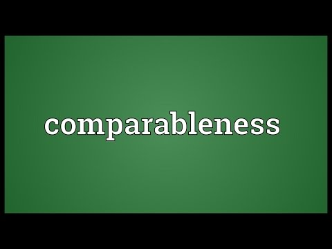 Header of comparableness
