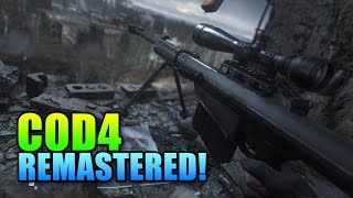 Call Of Duty 4 Remastered SP Review | Best COD?