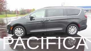 2017 Chrysler Pacifica Touring L Minivan | Full Rental Car Review and Test Drive