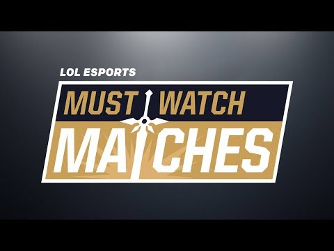 Must Watch Matches: 2018 Spring Split Week 8