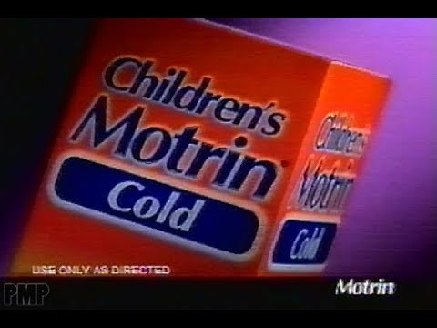 Watching video Children's Motrin Cold (2003)